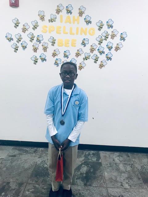 IAH 2018 Spelling Bee Winner Salieu Sowe