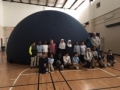 IAH Students Experience Planetarium with Mr. Hix