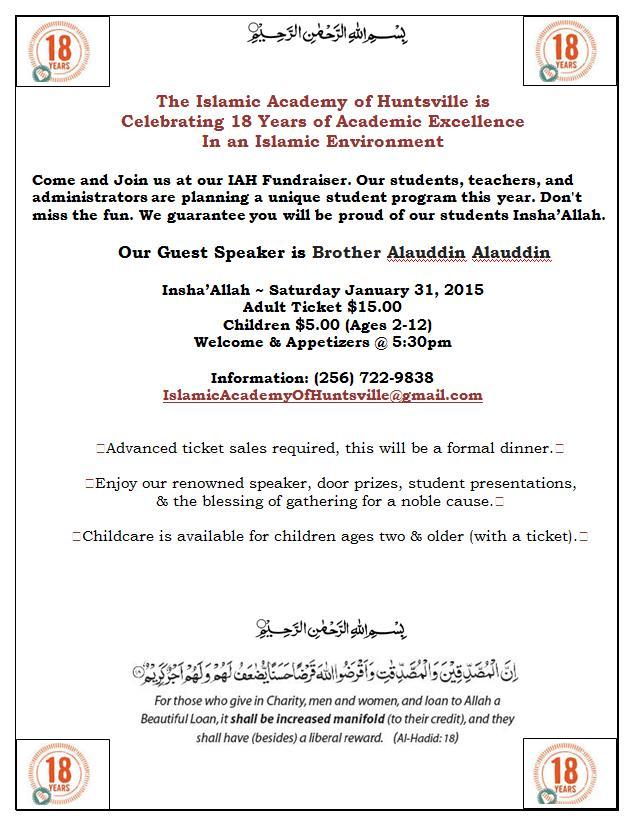 Fundraising flyer invitation