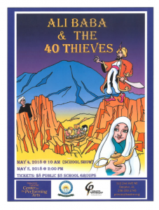 Ali Baba and 40 Thieves in Princess Theatre @ Princess Theatre Center for Performing Arts