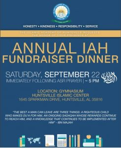 Annual IAH Fundraiser Dinner @ HIC Gymnasium